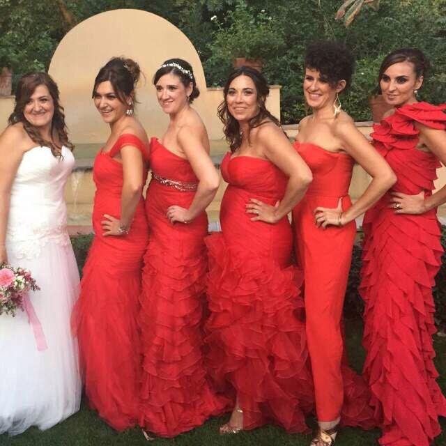 Vestidos para las damas de honor - 1