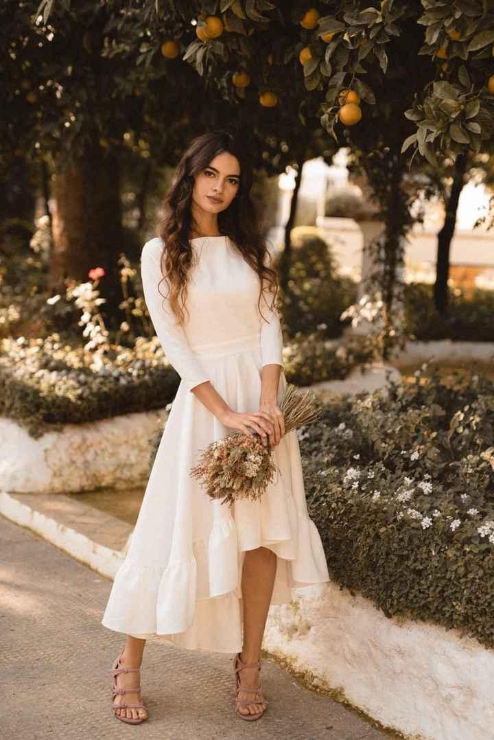 Vestido boda civil - 2