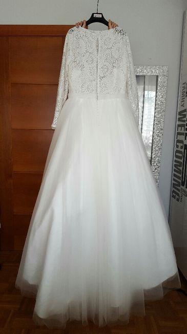 Mi segundo vestido novia