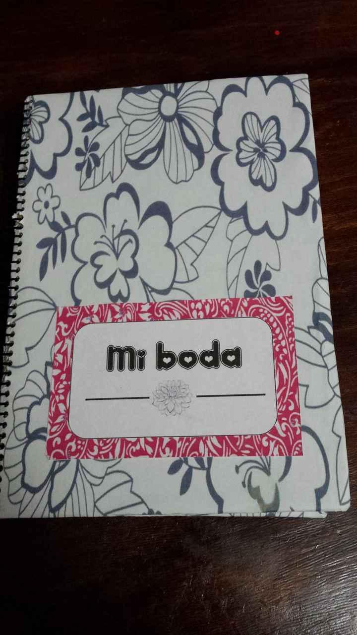 Mi agenda  de boda  - 1
