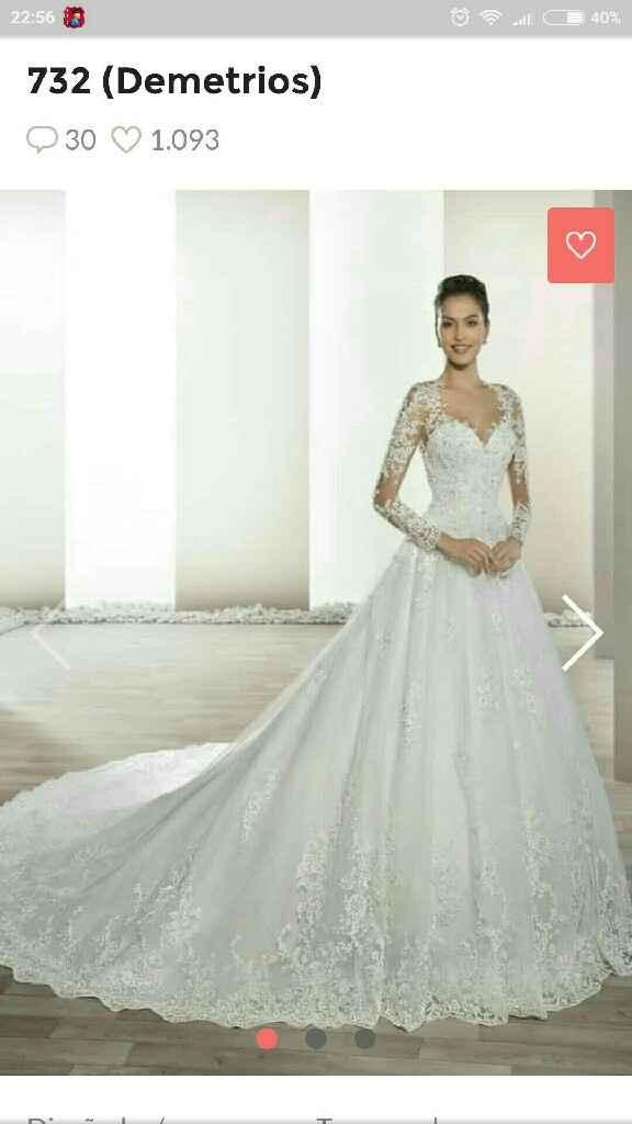 Mi vestido de novia en tres imágenes - 1