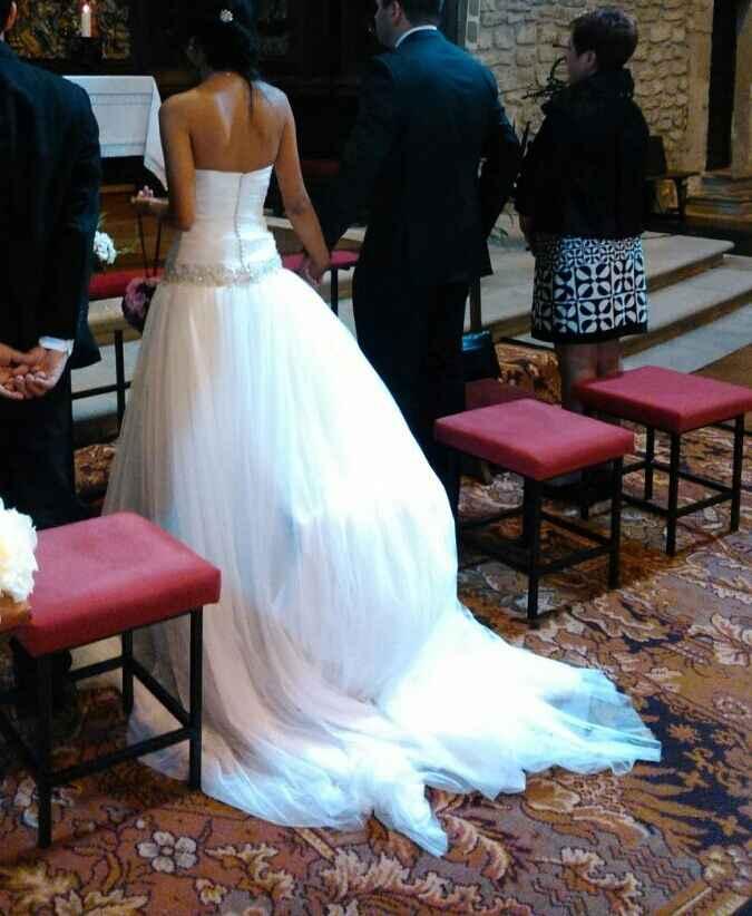 Vendo vestido de novia precioso y barato (mpdelo paladia) - 1