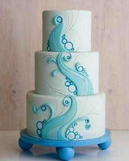 Pastel boda de playa