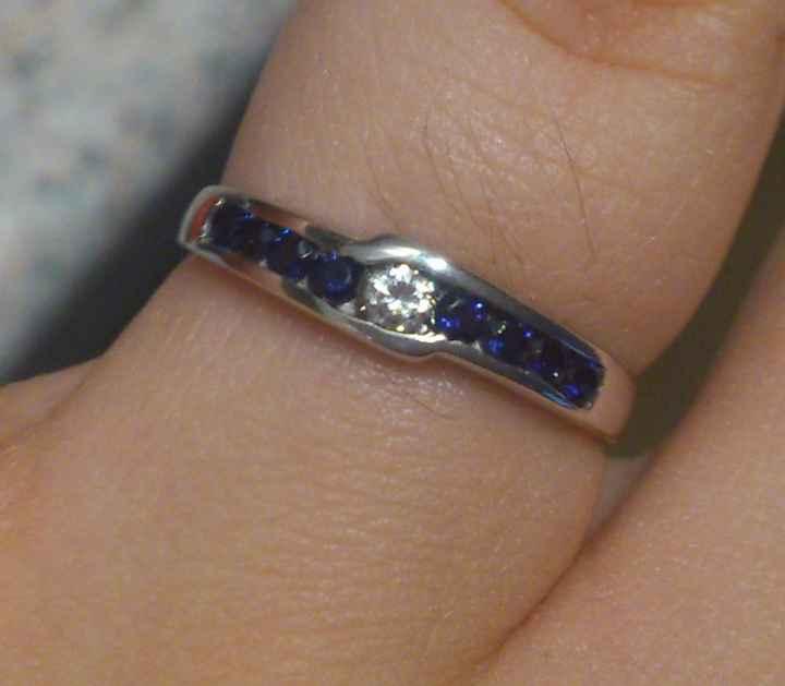 Mi anillo de compromiso!