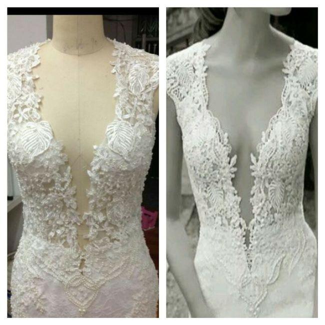 a4c0f2230 Mi vestido imitación berta bridal en aliexpress - Moda nupcial ...