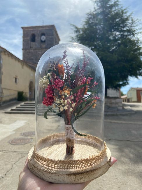 Ramo de flores preservadas 5