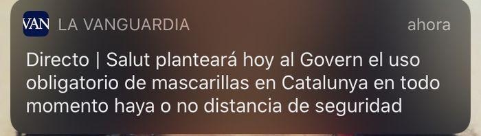 Alerta: mascarillas Catalunya 1