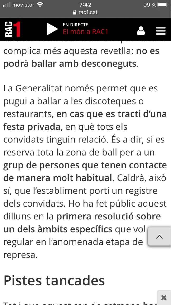 """Fase de recuperación Cataluña - """"nueva normalidad"""" - 1"""