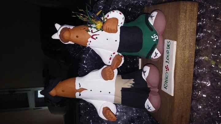 Muñecos para siguientes novios - 1