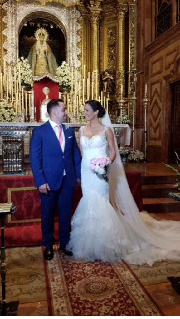 Novios que nos casamos el 3 de Junio de 2017 en Sevilla - 3