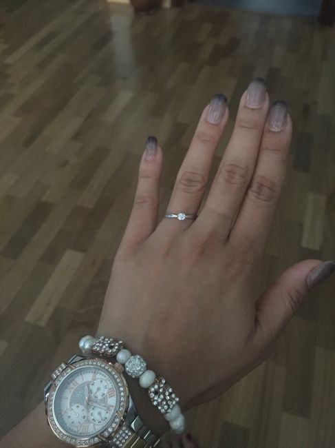 ¿Cómo es tu anillo de compromiso? ¡Compártelo! - 1