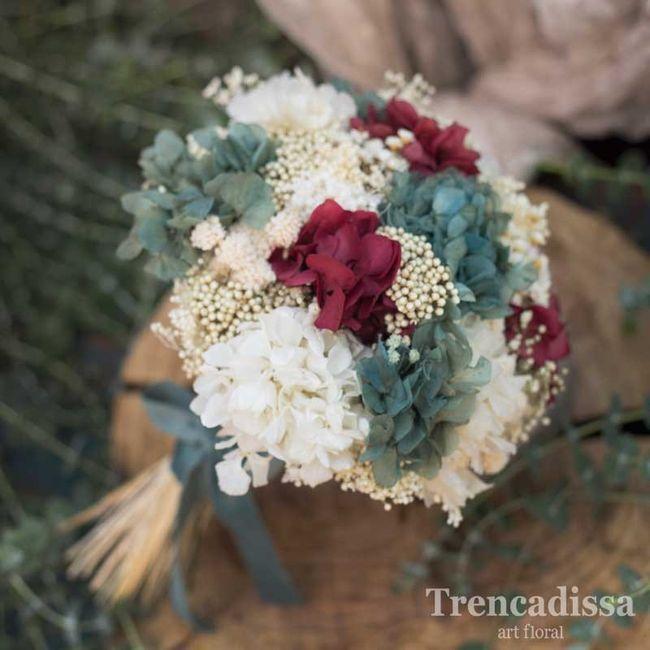 Ramo novia precio hortensias y paniculata 2
