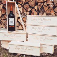 Cajas de vino grabadas - 1