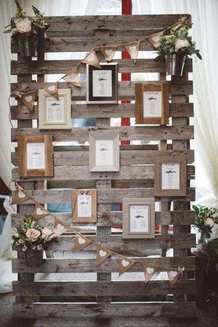 Ideas utilización palets en bodas 5