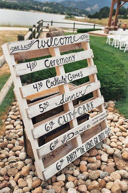 Ideas utilización palets en bodas 12