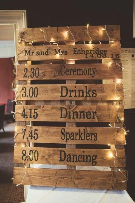 Ideas utilización palets en bodas 13
