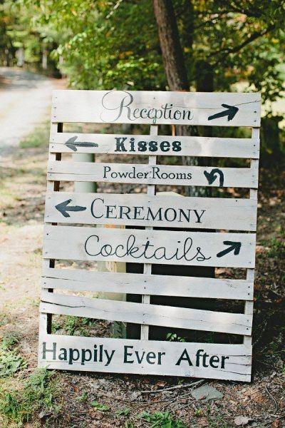 Ideas utilización palets en bodas 16