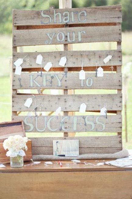 Ideas utilización palets en bodas 26