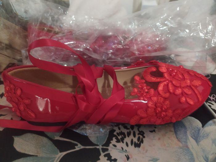 Zapatos de novia múlticolores 5