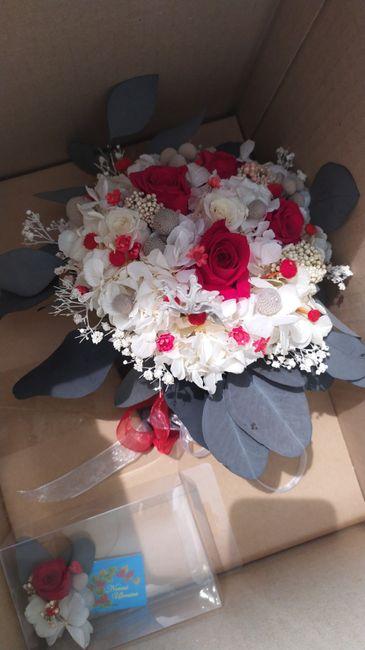 Ramo de flores preservadas 1
