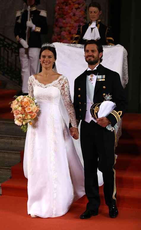 Princesas Europeas: ¡sus ramos de novia! - 1