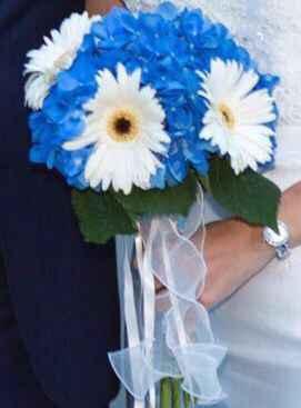 Estoy en duda ,me encantan las hortensias sera la flor que decorara mi boda ,pero deberia mezclarla