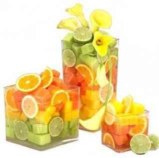 Como quedara la decoracion de la boda con frutas? - 2