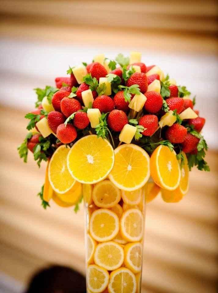 Como quedara la decoracion de la boda con frutas? - 6