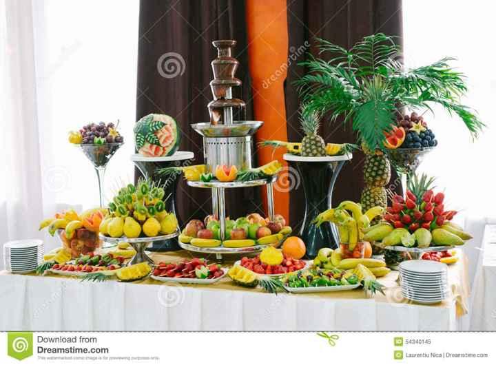 Mesa de frutas - 1