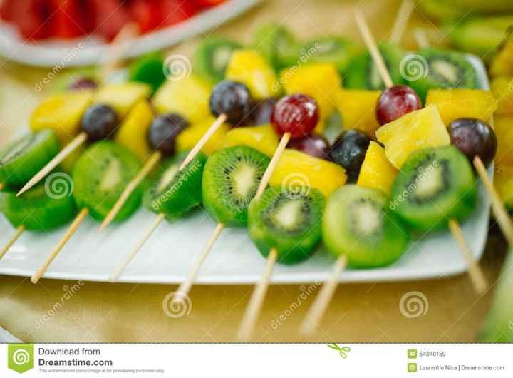 Mesa de frutas - 2