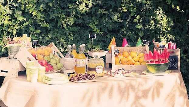 Mesa de frutas - 3