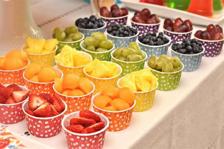 Mesa de frutas - 6
