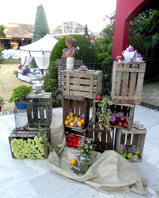 decoración para boda de día - banquetes - foro bodas