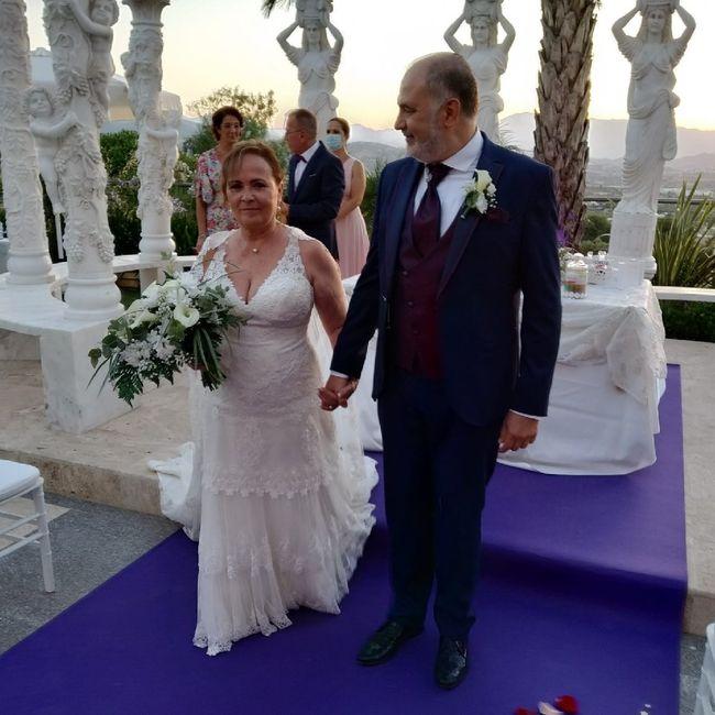 Lo conseguimos. Objetivo cumplido, boda realizada sin contratiempos. 1