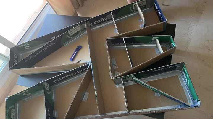 Letras gigantes de cartón - 2