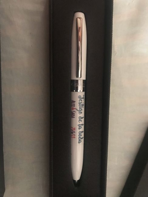 Bolígrafos testigos ❤️ - 3