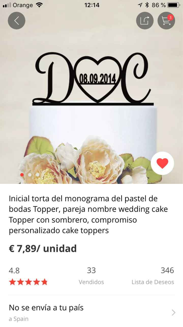 Cake topper de Aliexpress?? - 3