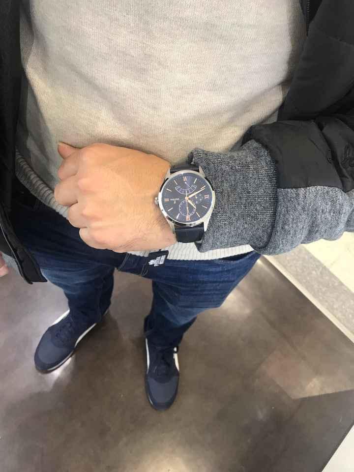 Ayuda: reloj para el novio - 1