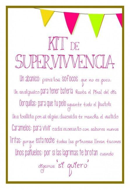 Imagenes De Baño De Damas:Frases kit de supervivencia – Página 2 – Manualidades – Foro Bodas