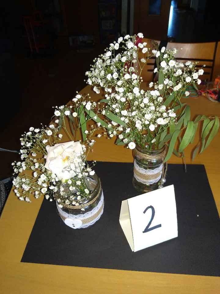 Centros de mesa, pondríais mas flores? - 2