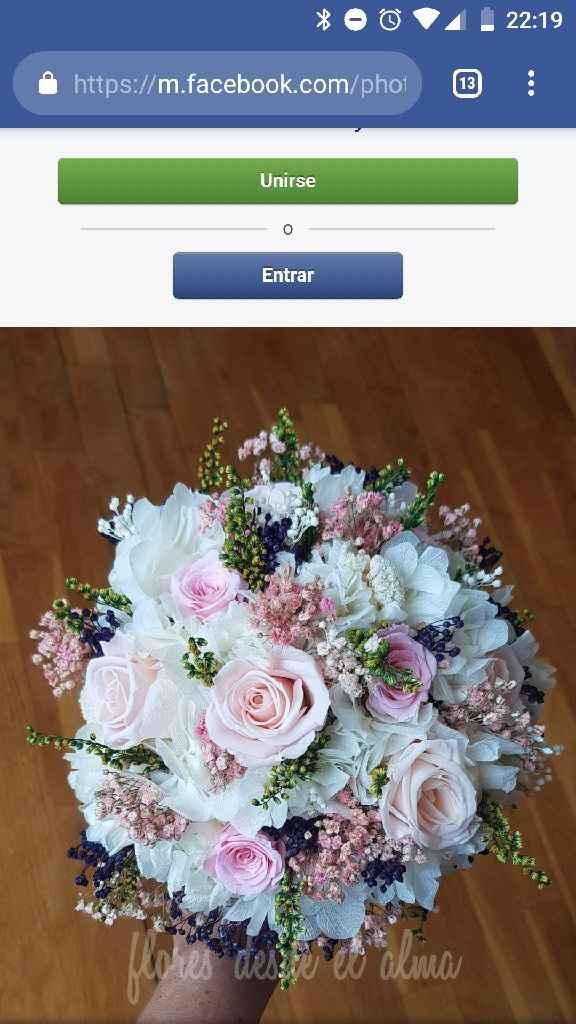 Ramo de novia natural o flores preservadas? - 1