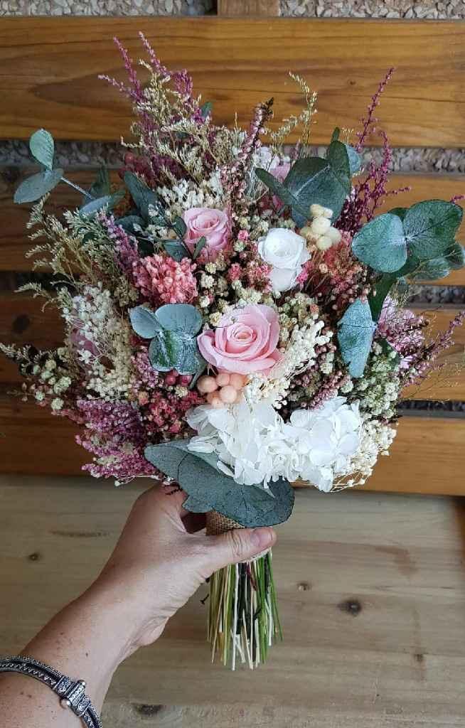 Complementos rosas para la novia - 3