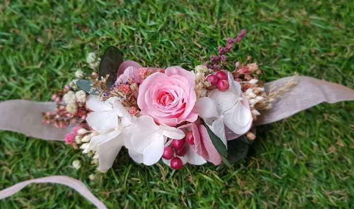 Complementos rosas para la novia - 4