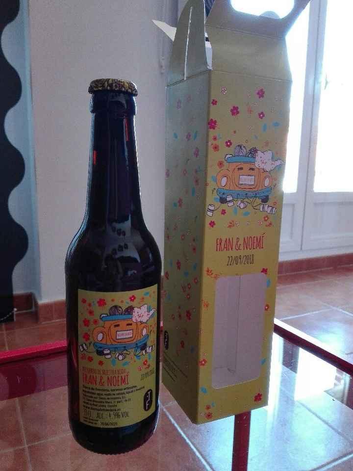 Cerveza como detalle para los hombres de mi boda - 1