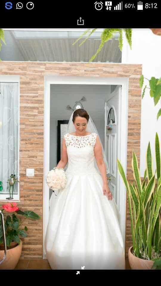 Si te volvieses a casar ... llevarías el mismo vestido? - 1