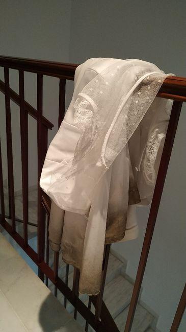 Cómo terminó vuestro vestido de novia? 3