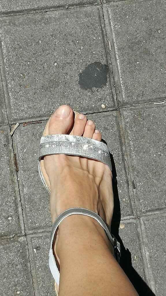Al final cambio los zapatos por cuñas - 3