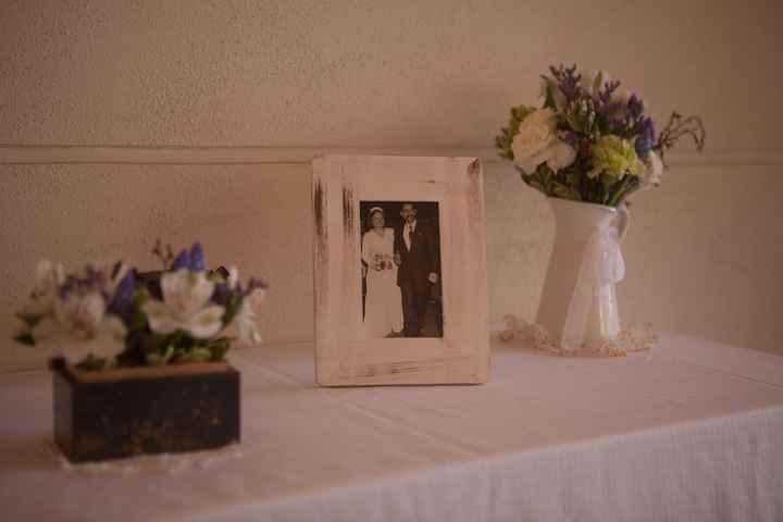 deco boda foto antigua