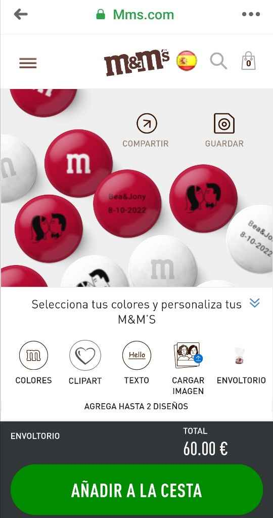 M&m's personalizados - 1