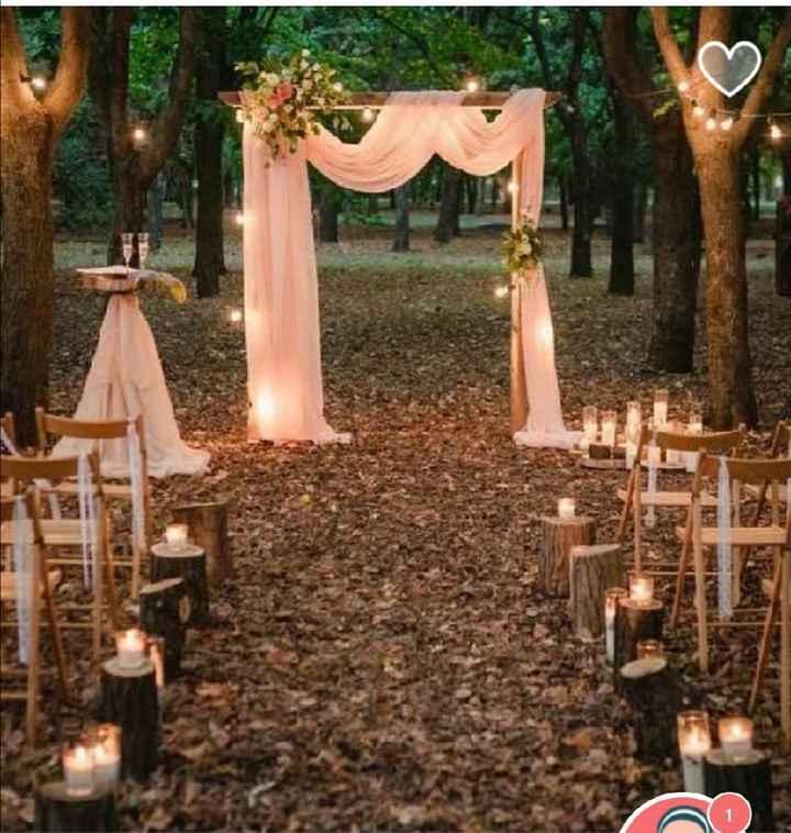 Lugar para la celebración de la boda - 1